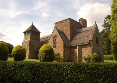 All Saints Church, Herefordshire, Lethaby, 1902